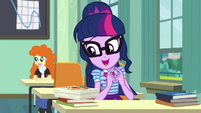 "Twilight Sparkle ""rewrite my final exam"" EGDS22"