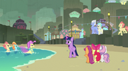 Twilight caught between Sky Beak and Ocean Flow S8E6