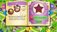 Ace album page MLP mobile game