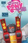 Comic issue 19 cover RE Con 2014
