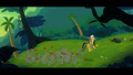 Daring Do bringing the arrows down to the ground S4E04.png