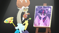 Discord as Bob Ross --just a happy accident-- S5E22