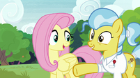 "Fluttershy ""you should have plenty of room"" S7E5"