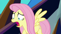 Fluttershy tearfully calls Discord's name S9E2