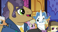 Manehattan delegate forgiving Spike S5E10
