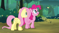 Pinkie Pie 'What's he saying ' S4E18