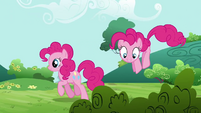 Pinkie Pie clone 'Where's the fun, where's the fun!' S3E3