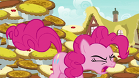 Pinkie stomps her hooves on the ground S7E23