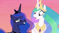 Princess Celestia very confused S7E10