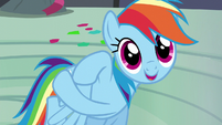 Rainbow Dash --hello, Captain Awesome!-- S6E7