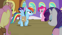 Rainbow Dash -they've had enough bad news- S03E12