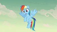 Rainbow Dash happy -that...- S7E18