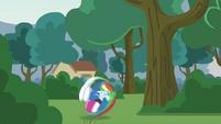 Rainbow Dash tucks and rolls EG3