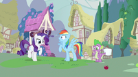 Rainbow Dash you were saying S3E11