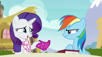 "Rarity ""so ridiculously over-the-top"" S8E17"