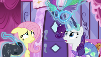 "Rarity ""your vision would be somewhat obscured"" S5E21"