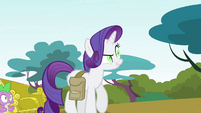 Rarity -hasn't been utterly transformed- S4E23
