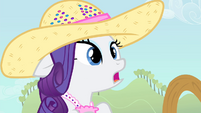 Rarity hears Applejack S4E13