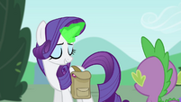 Rarity using magic S4E23