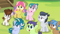Rumble and campers watch Thunderlane perform S7E21.png