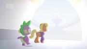 S04E24 Spike i panna Harshwhinny wychodzą na stadion