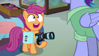 "Scootaloo ""I got to tell you?!"" S7E7"
