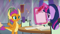 "Smolder ""is it okay if I miss class?"" S9E9"