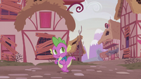 """Spike """"getting a bad feeling about this"""" S5E25"""