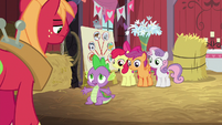 Spike -how long have you been not hiding-- S8E10