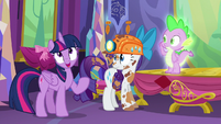 "Twilight ""We are sadly lacking any information on dragon culture and customs"" S6E5"
