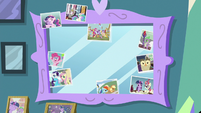 Twilight Sparkle's friendship mirror S7E1