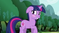 Twilight blushing S3E05