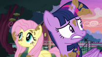 Twilight getting nervous S5E3