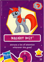 Wave 6 Magnet Bolt collector card