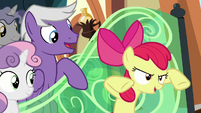 "Apple Bloom ""in the Battle of Canterlot"" S8E6"