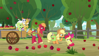 "Applejack ""every trap sprung?"" S9E10"