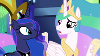 "Celestia ""harder to justify a vacation"" S9E13"