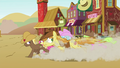 Earth ponies running in Appleloosa S4E25.png