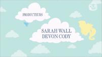 Equestria Girls Sarah Wall and Devon Cody credit - French