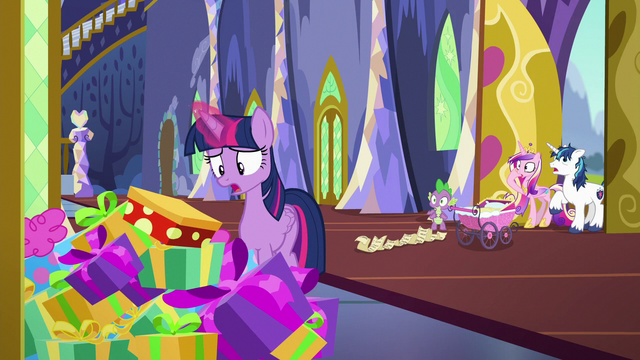 File:Flurry Heart gets buried under gift boxes S7E3.png