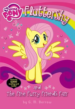 Fluttershy and the Fine Furry Friends Fair cover