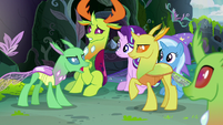 "Green Changeling ""he makes us all uncomfortable"" S7E17"
