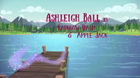 Legend of Everfree credits - Ashleigh Ball EG4
