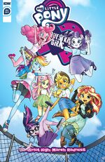 MLPEG Canterlot High March Radness cover A