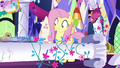 Pillar collapses in front of Fluttershy S5E3.png
