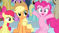 "Pinkie ""and only by one medal"" S4E24"