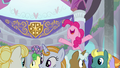 Pinkie Pie happy to see Prince Rutherford S8E1.png