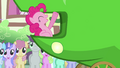 Pinkie Pie laughing at 'lettuce' joke S3E4.png