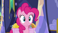 Pinkie Pie listening to Starlight Glimmer S6E21