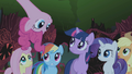 Pinkie Pie singing Everfree Forest 2 S1E02.png